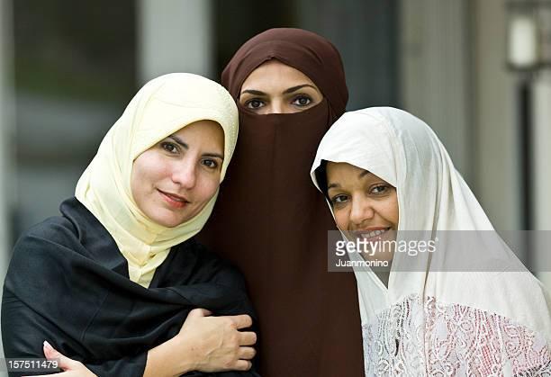 Three muslim women