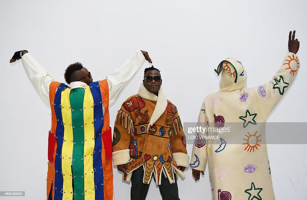 Three of the kings of sape the societe des ambianceurs et des