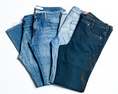 Three pair of jeans