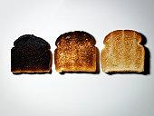 Three Pieces of Toast.