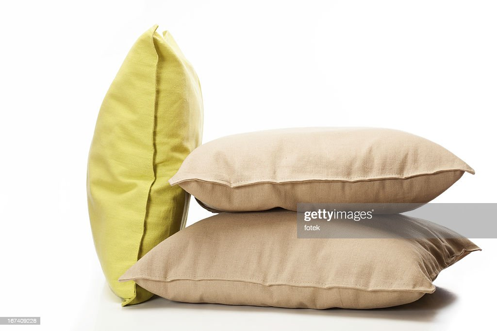 Three pillows : Stock Photo