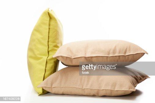 Three pillows : Stock Photo