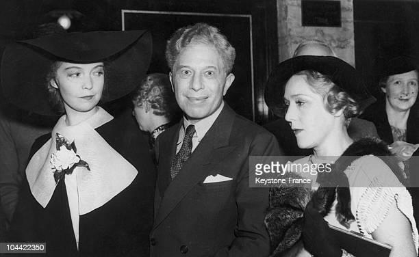 Three Pioneers Of Film Lillian GishSid Grauman And Mary Pickford