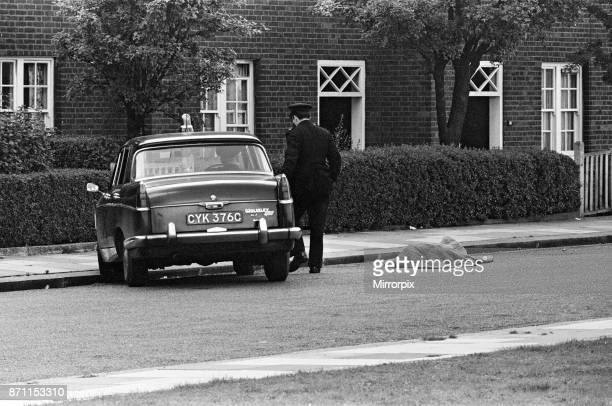 Three police officers Detective Sergeant Christopher Tippett Head Temporary Detective Constable David Bertram Wombwell 25 and Police Constable...
