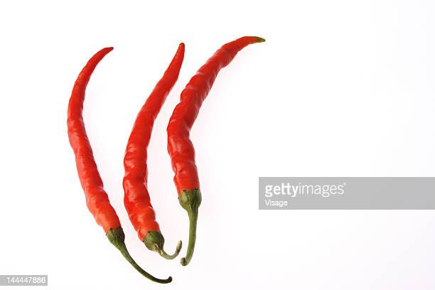 Three red chilies