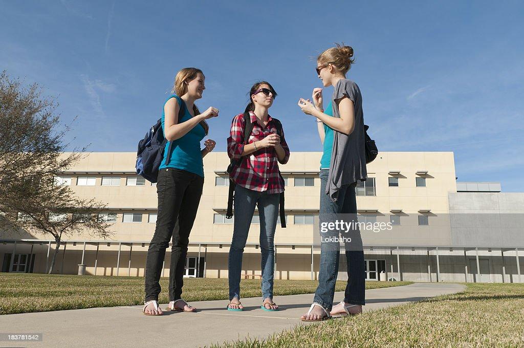 Three School Girls ASL