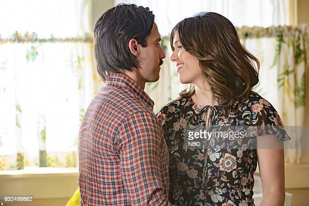US 'Three Sentences' Episode 113 Pictured Milo Ventimiglia as Jack Pearson Mandy Moore as Rebecca Pearson