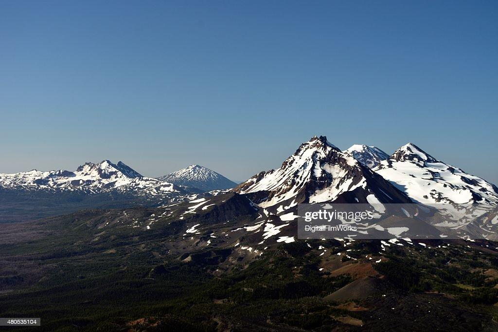 Three Sisters - Oregon Cascades : Stock Photo