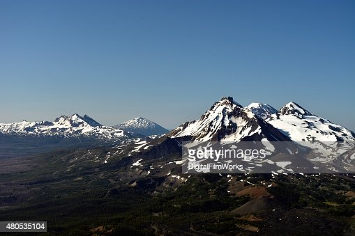 Three Sisters - Oregon Cascades : Stock Photo