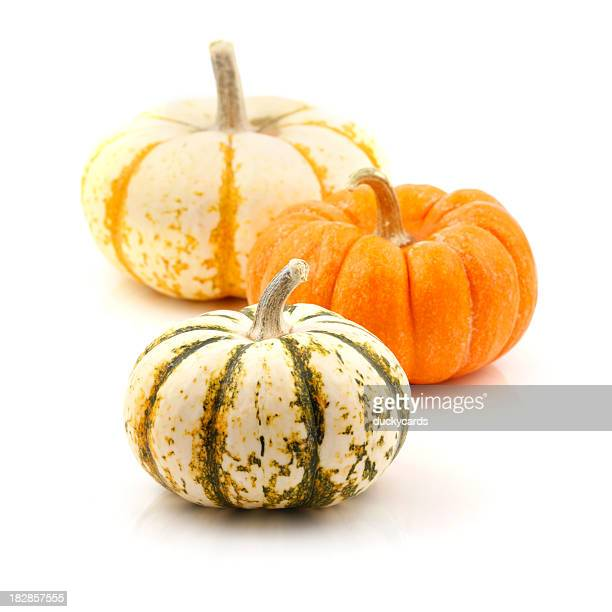 Tres pequeños Pumpkins