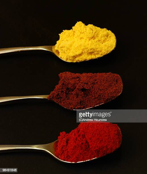 Three Spoons of Spice in a Line