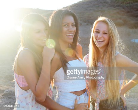 Royalty Free Three Teens With 88