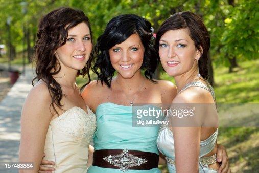 Three Teenage Friends