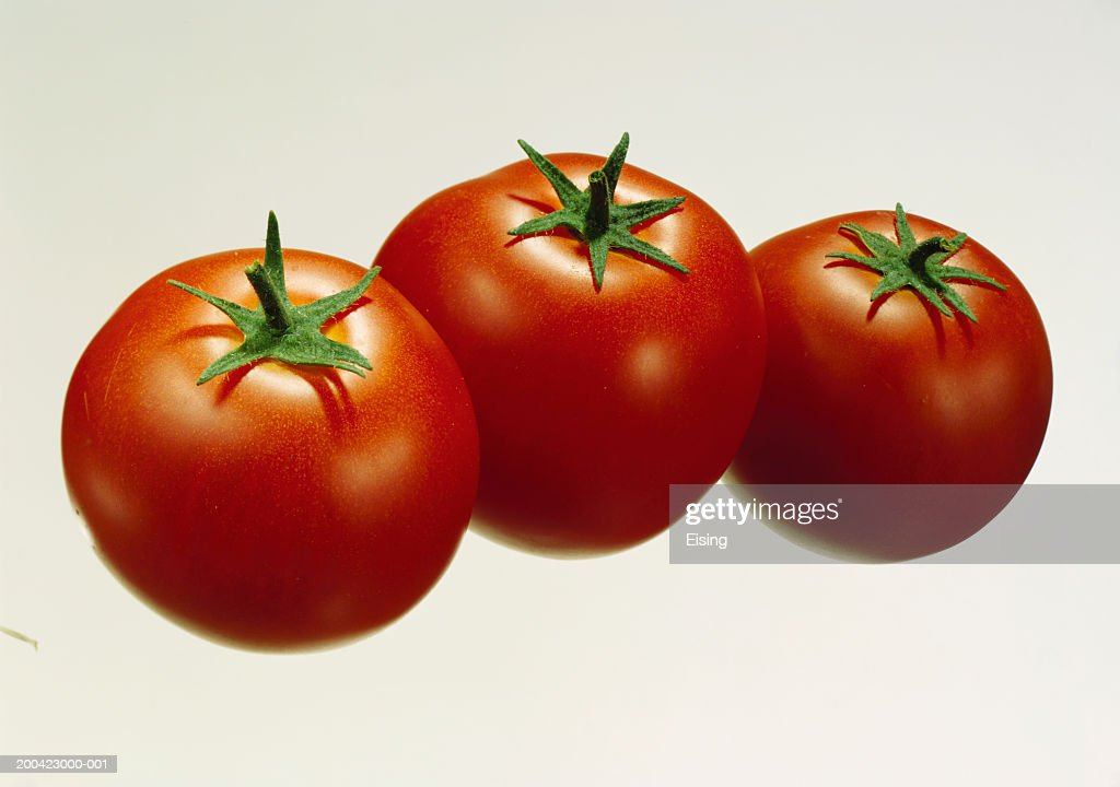 Three Tomatoes : Stock Photo