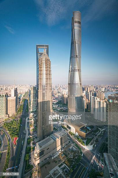 Three tops of Shanghai.
