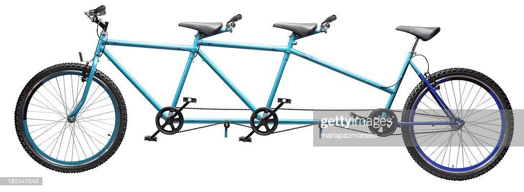 three wheel tandem bicycle