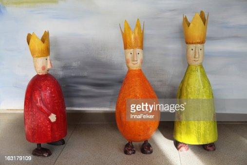 three wise men : Stock Photo