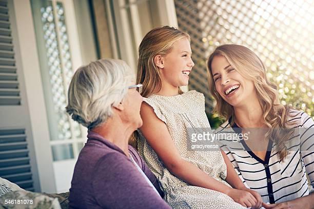 Three women. One family