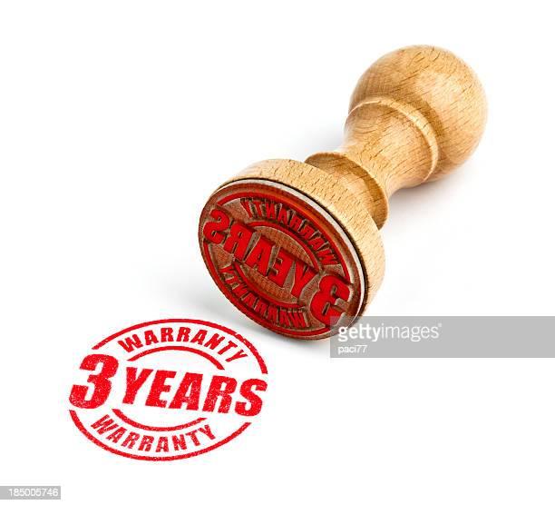 Drei Jahre Garantie