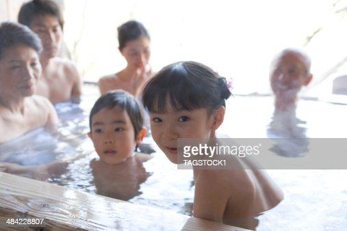 Hidden Camera In Girls Bathroom Threegeneration Family In