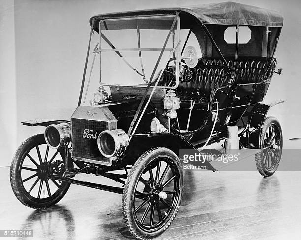 Threequarter view of a 1908 Model T Ford Undated photograph