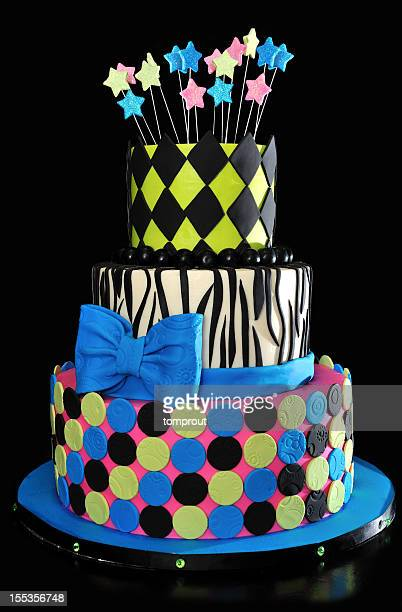 Dreistufiger Kuchen