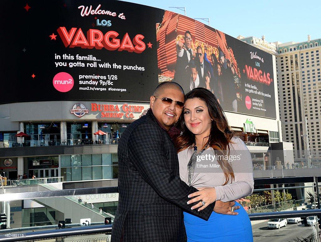 """Fernando And Martha Vargas Kick Off """"Welcome To Los Vargas"""" In Las Vegas"""