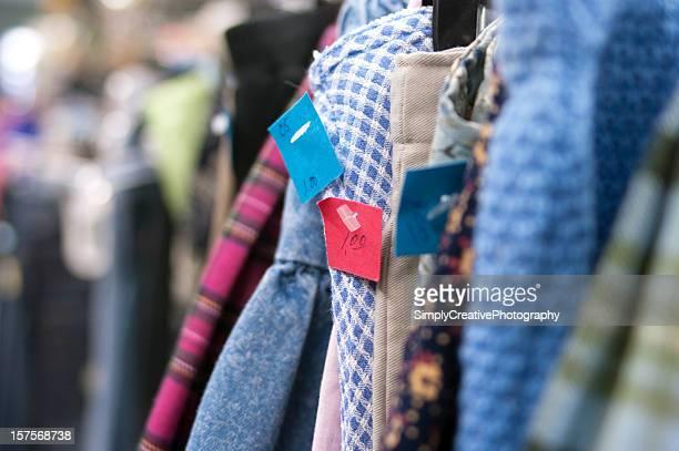 Tienda de artículos de segunda mano ropa