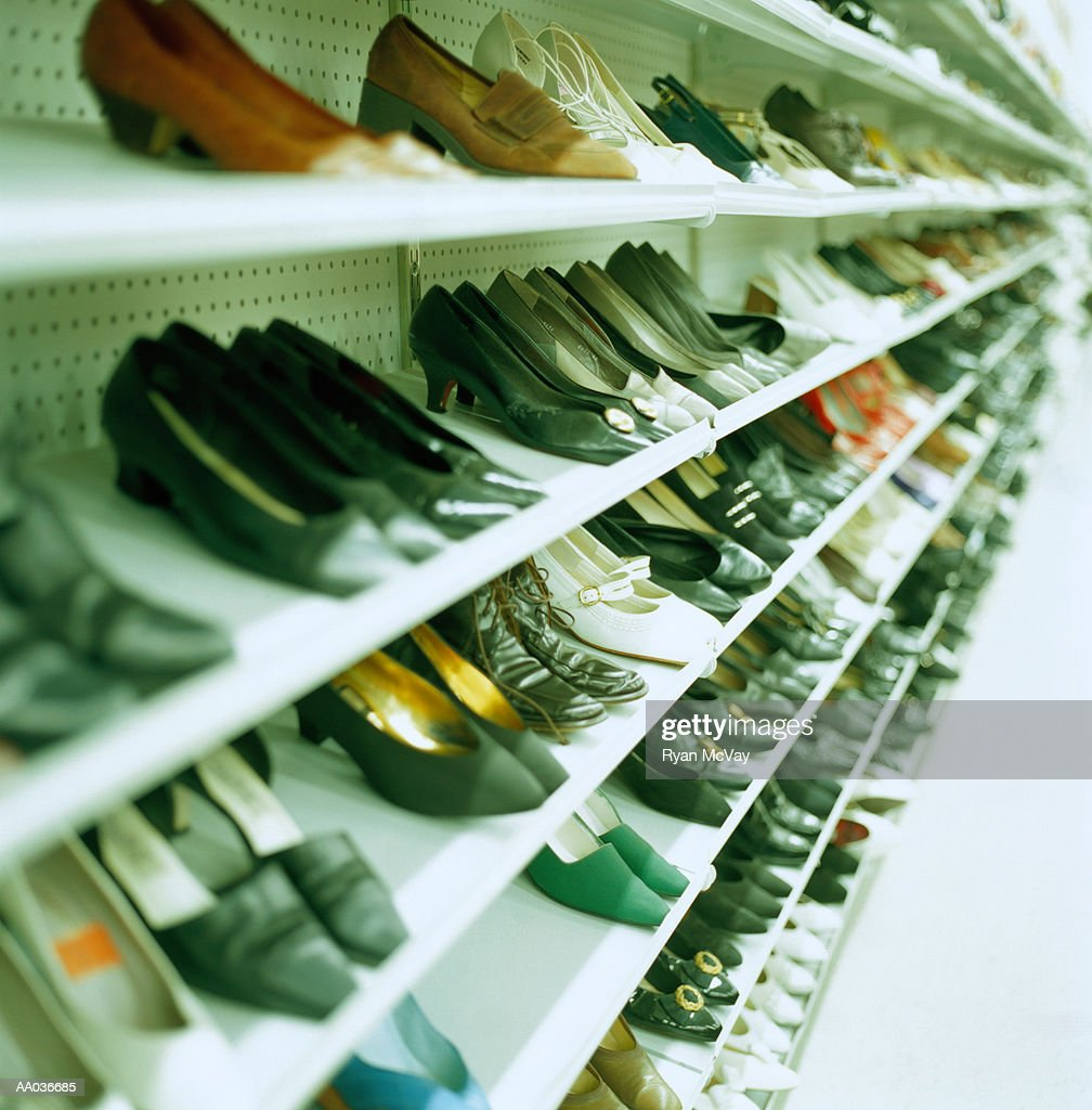 Thrift Store Shoes : Stock Photo