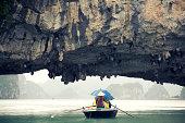 Through the rock