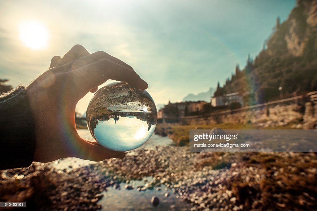 Through the sphere