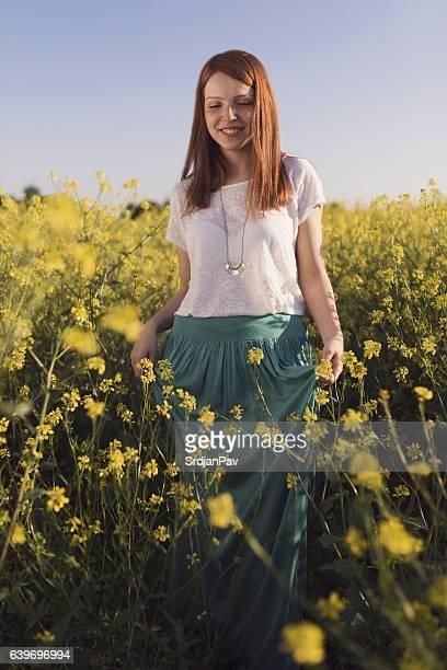 Through the wildflowers
