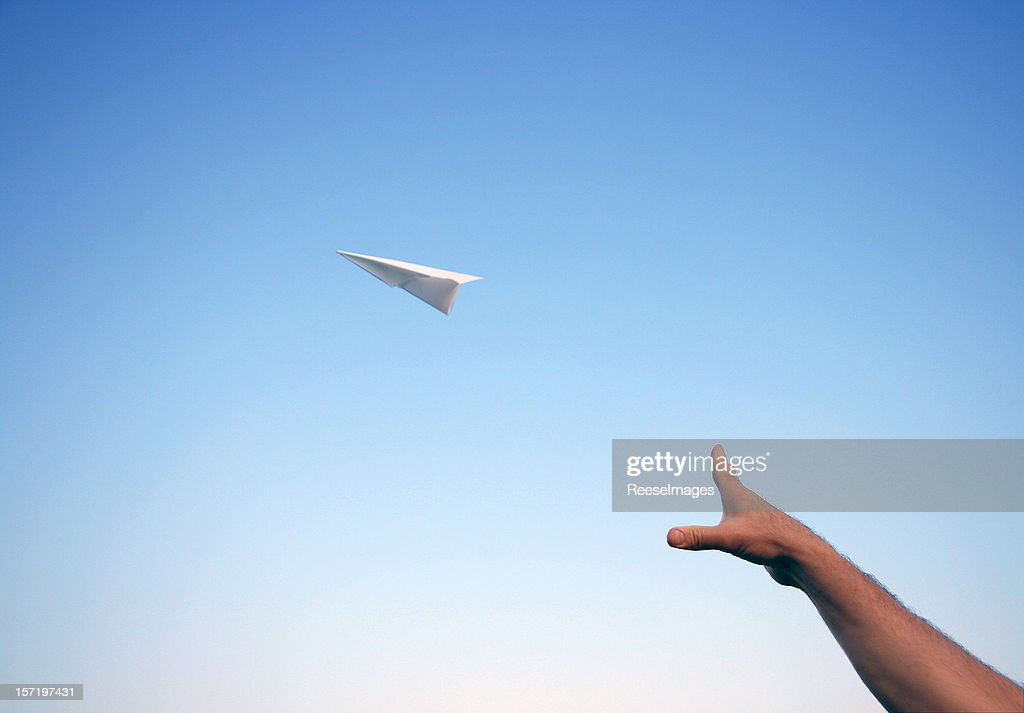 Throwing a Paper Airplane