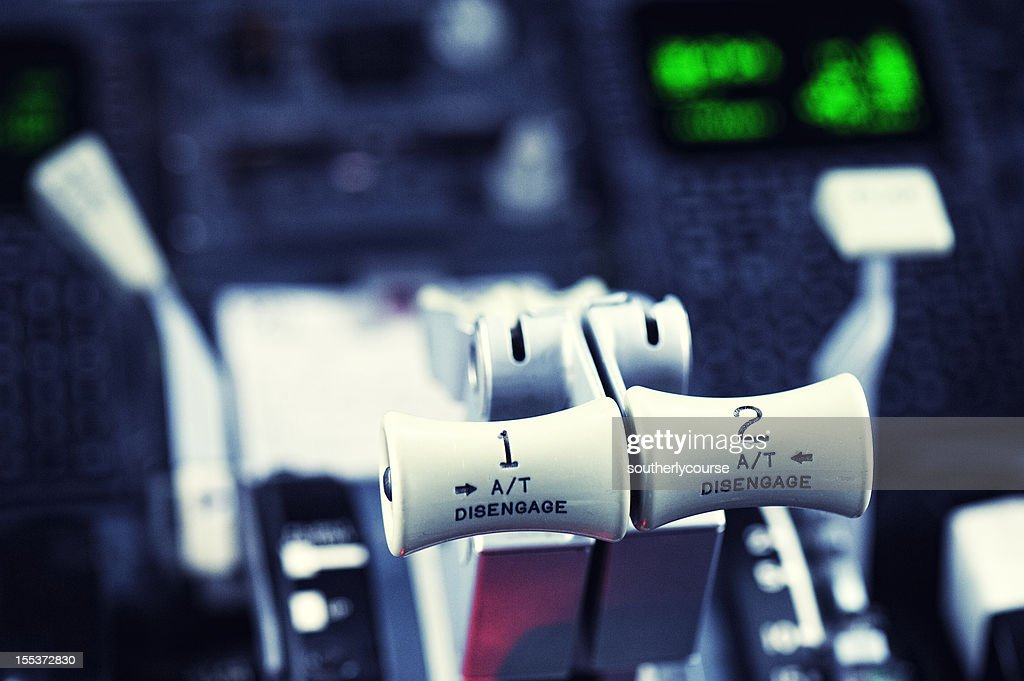 Thrust Levers Boeing 737-300