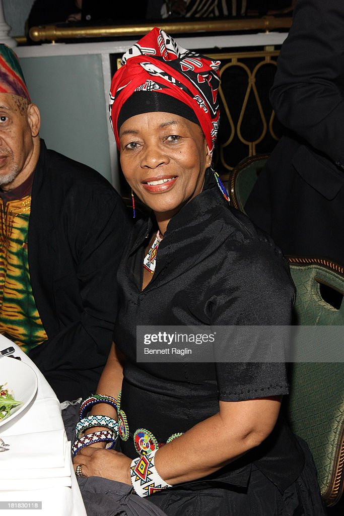 Thuli Dumakude attends Africa-America Institute 60th Anniversary Awards Gala at New York Hilton on September 25, 2013 in New York City.