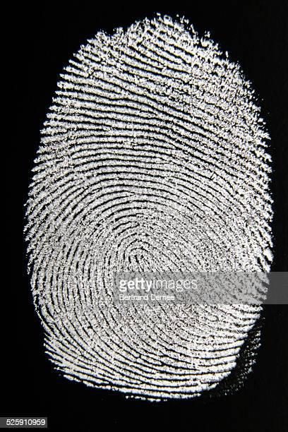 Thumbprint or fingerprint