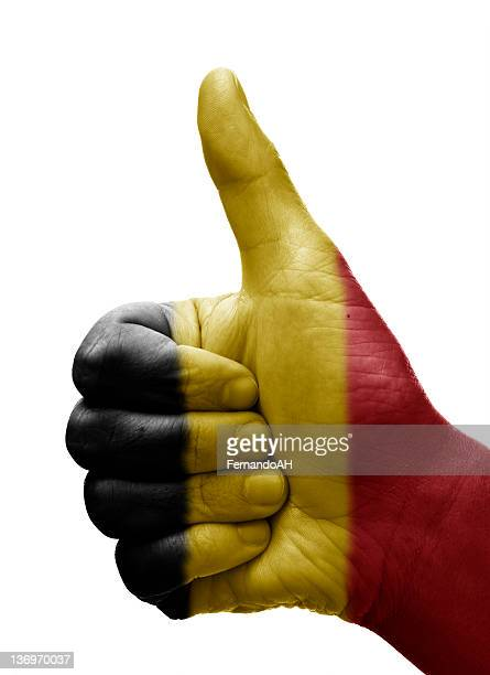 Thumbs up Belgium