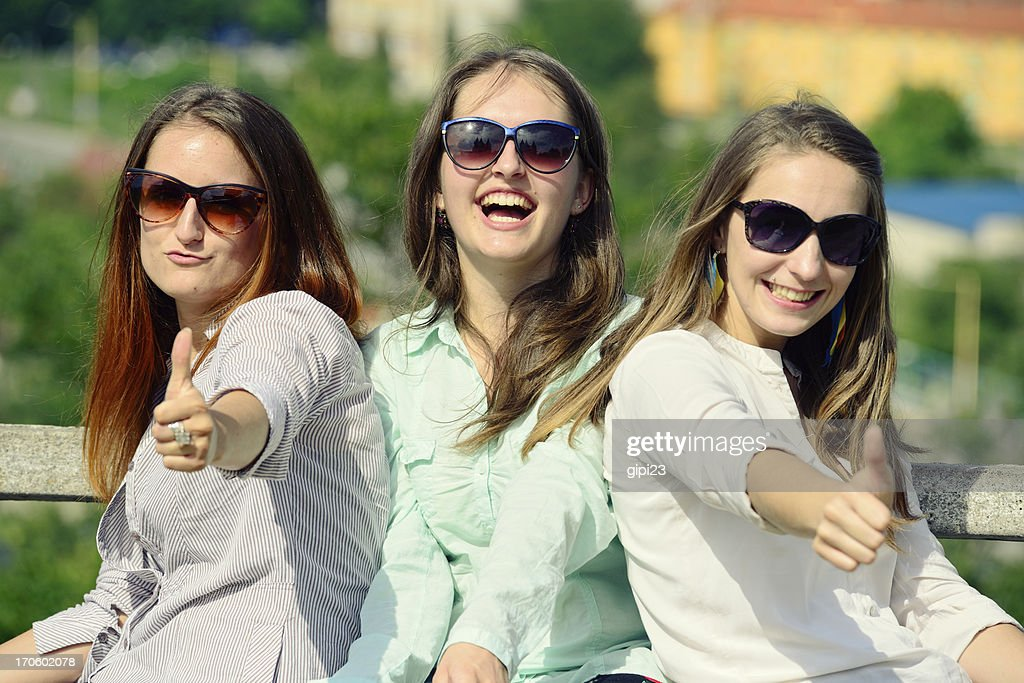 Thumbs up : Stock Photo