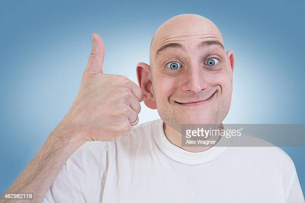 Funny Bald Guy Stock Photos And Pictures Getty Images