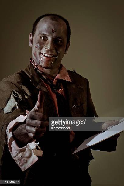 Daumen hoch zombie