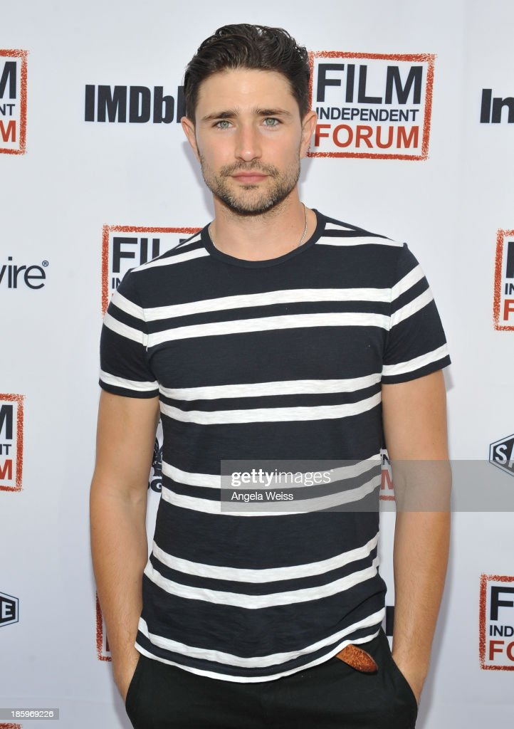 Thunder Road Producer <a gi-track='captionPersonalityLinkClicked' href=/galleries/search?phrase=Matt+Dallas&family=editorial&specificpeople=752704 ng-click='$event.stopPropagation()'>Matt Dallas</a> attends the Film Independent Forum at the DGA Theater on October 26, 2013 in Los Angeles, California.