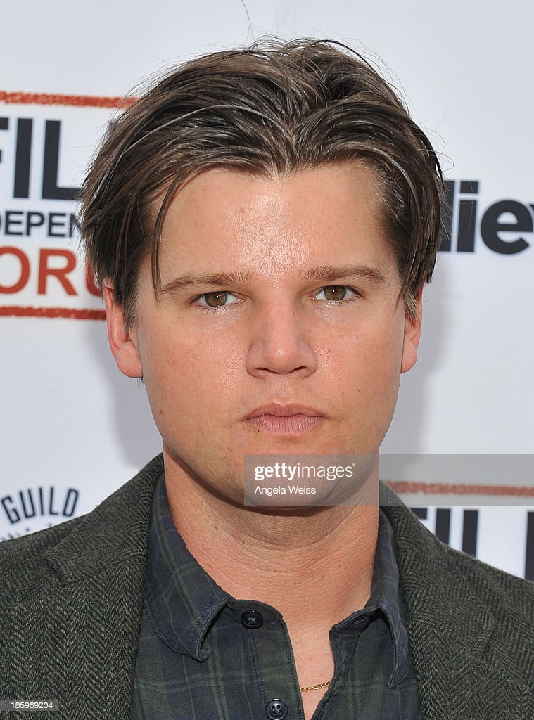 'Thunder Road' writer/producer Steven Grayhm attends the Film Independent Forum at the DGA Theater on October 26, 2013 in Los Angeles, California.