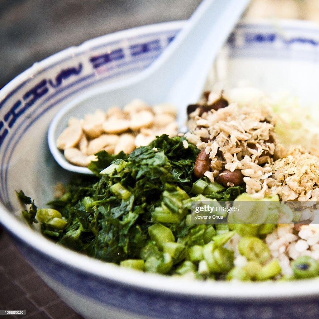 Thunder Tea Rice : Stock Photo
