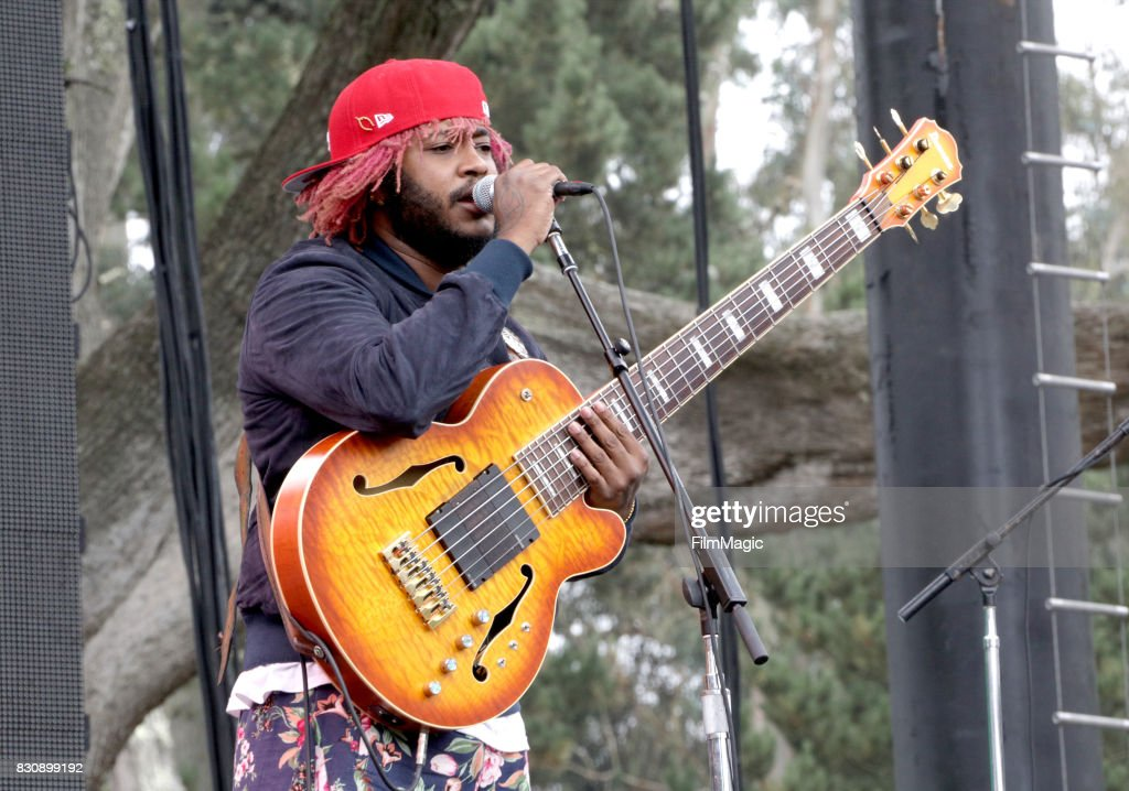 Thundercat performs on the Twin Peaks Stage during the 2017 Outside Lands Music And Arts Festival at Golden Gate Park on August 12, 2017 in San Francisco, California.