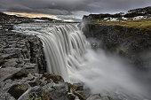 Thundering waterfall - Dettifoss, Iceland