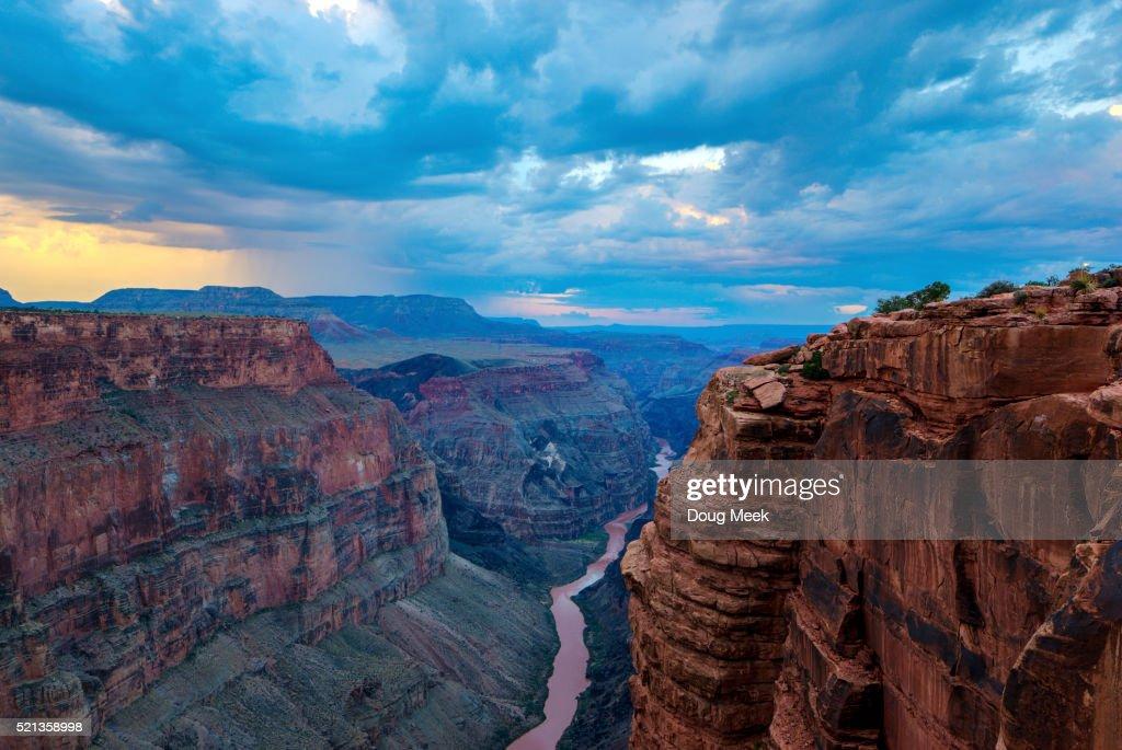 Thunderstorm at Toroweap, Grand Canyon, Arizona