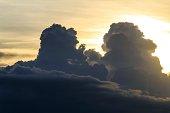 Thunderstorm clouds, Iguazu Falls