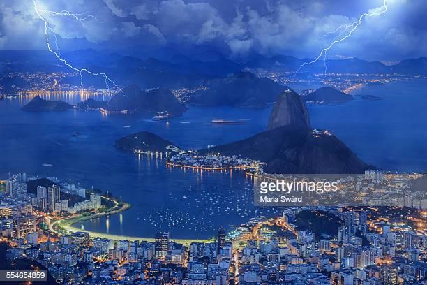 Thunderstorm in Rio de Janeiro