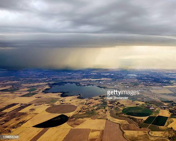 Thunderstorm over Denver, Colerado