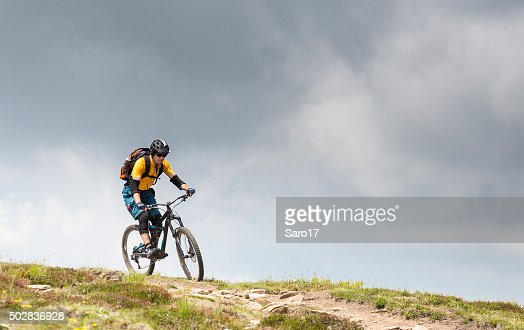 Thundery mountainbiking in the Carinthian Mountains, Austria
